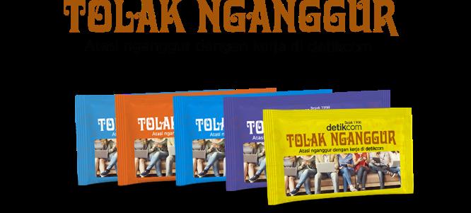 Tolak Nganggur welcome page